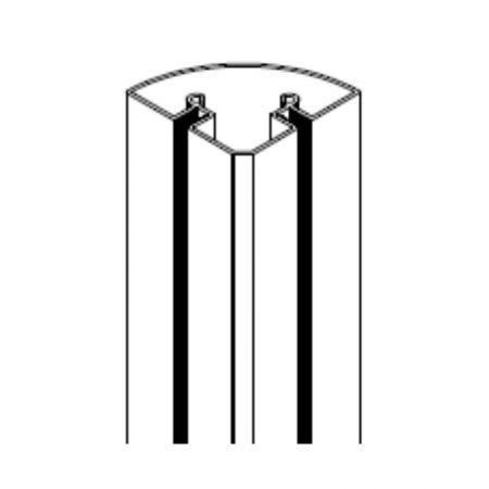 ALUVISION C90 Corner A1 profile (au mètre linéaire)