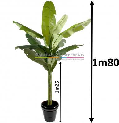 Bananier exotique artificiel 1m80