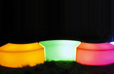 Banc lumineux - Snake LED