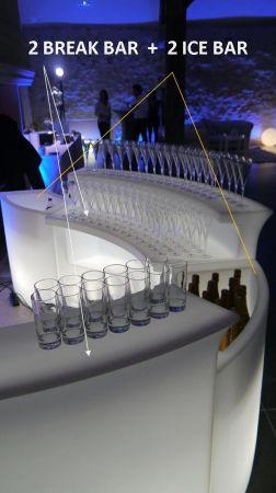Bar lumineux - Slide Break Bar