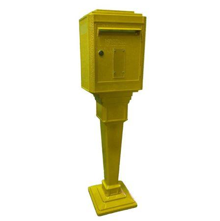 Boîte aux lettres Jaune La Poste