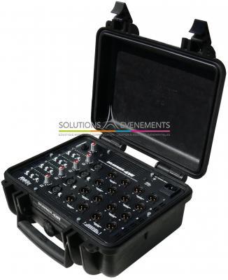 Boitier de presse Drawmer - KICKBOX 4X4