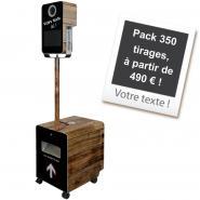 Borne Photo (Photobooth) 350 tirages