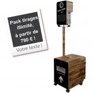 Borne Photo (Photobooth) tirages illimité