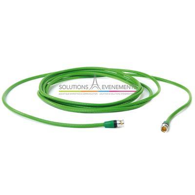 Câble vidéo BNC HD SDI 5m