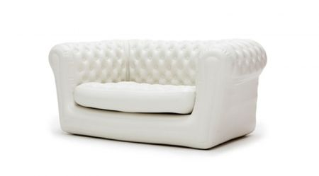 Canape Chesterfield Gonflable BLANC