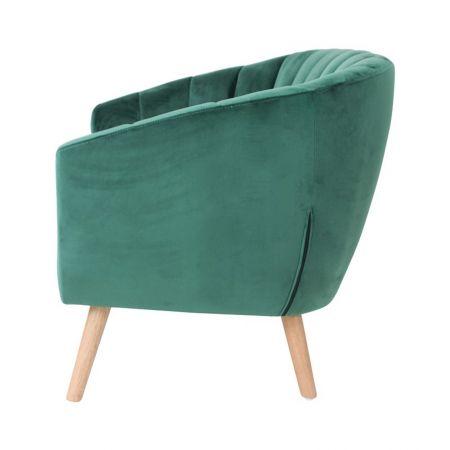 Canapé Juliette velours vert