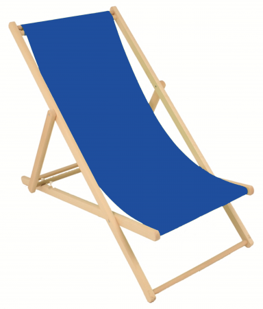 Chaise Chilienne Bleue