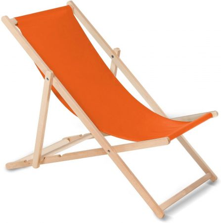 Chaise Chilienne orange