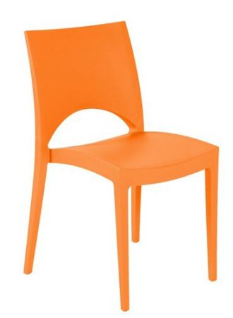 Chaise E-Trix orange