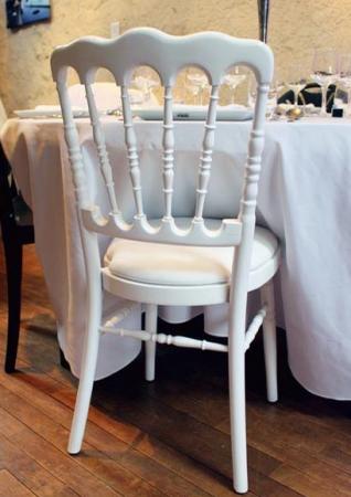 Chaise Napoleon blanche - blanche