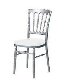 Chaise Napoleon grise - blanche