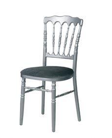 Chaise Napoleon grise - grise