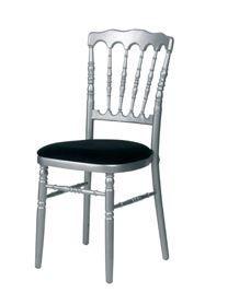 Chaise Napoleon grise - noire