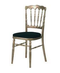 Chaise Napoleon or - noire