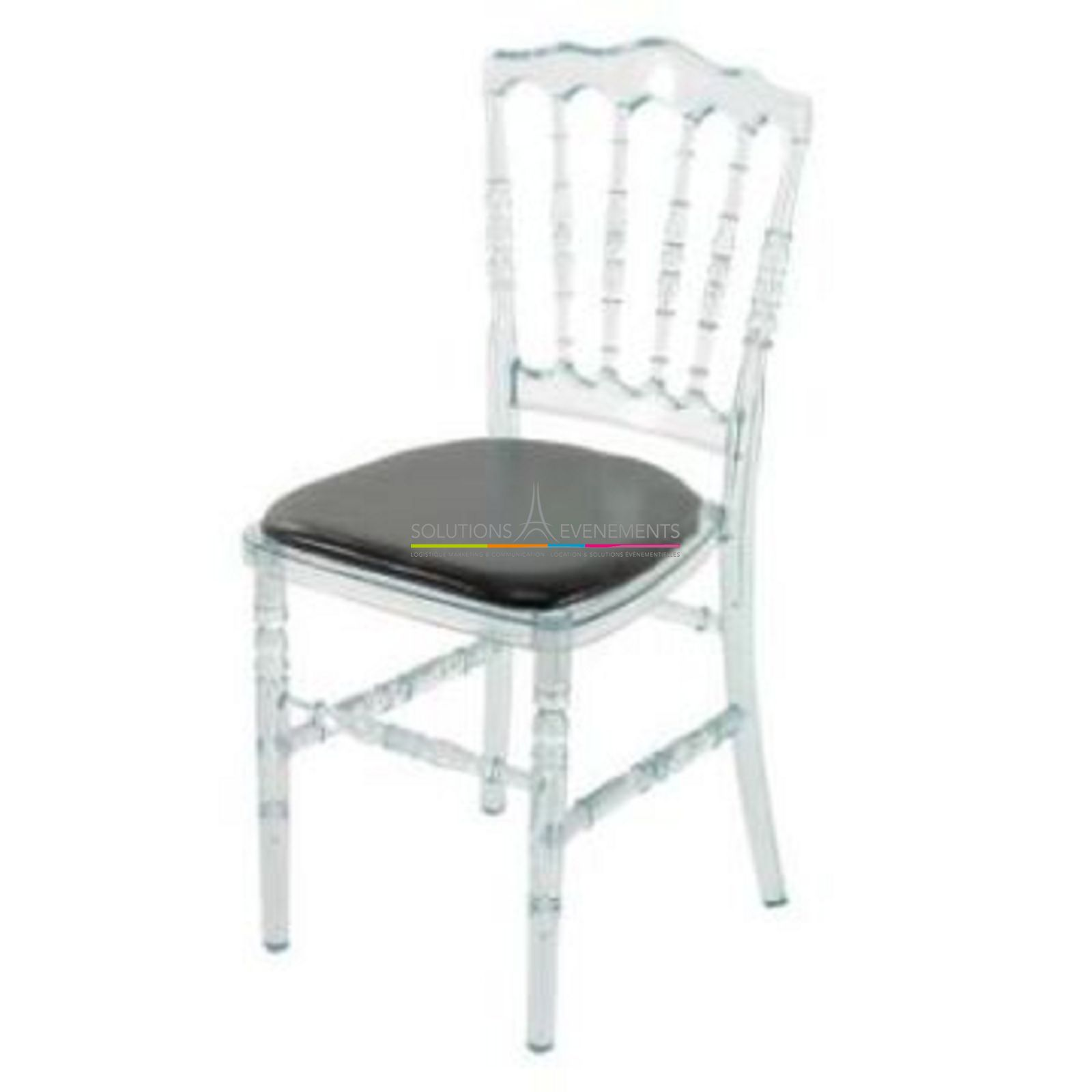 Location Chaise Napoleon Transparente