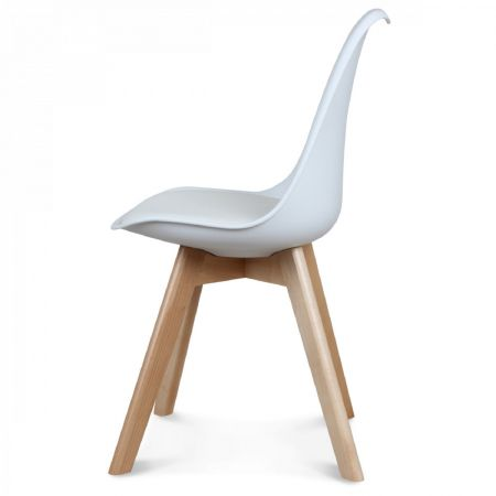 Chaise scandinave blanche n°2