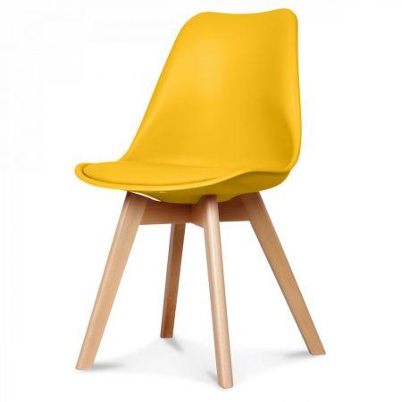 Chaise scandinave jaune