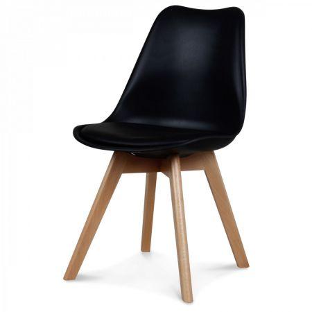 Chaise scandinave noire n°2