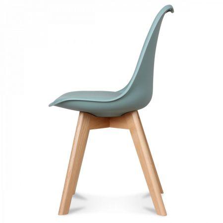 Chaise scandinave vert thym