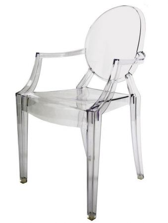 Chaise Transparente Louis Ghost