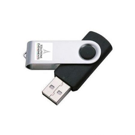 Clé USB 2 GO NOIRE