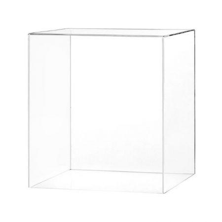 Cloche transparente pour stèle