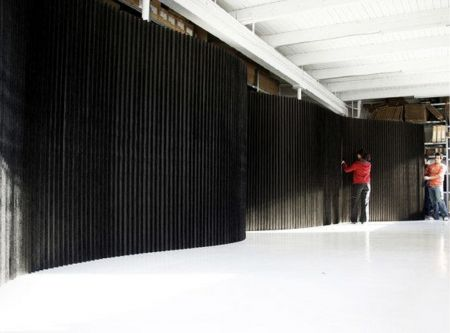 Cloison Easywall noire taille XL