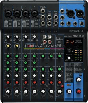 Console de mixage - Yamaha - MG10XU