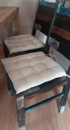 Coussin de chaise Beige