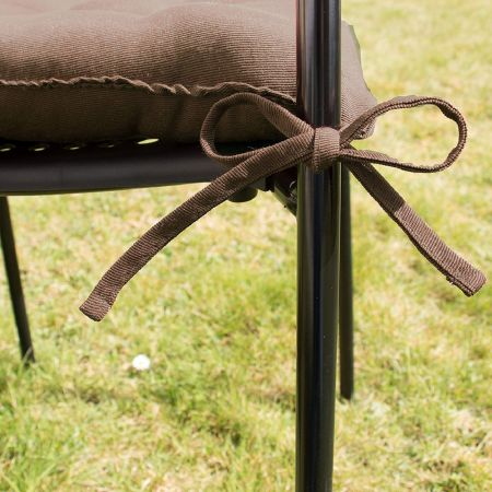 Coussin de chaise Chocolat