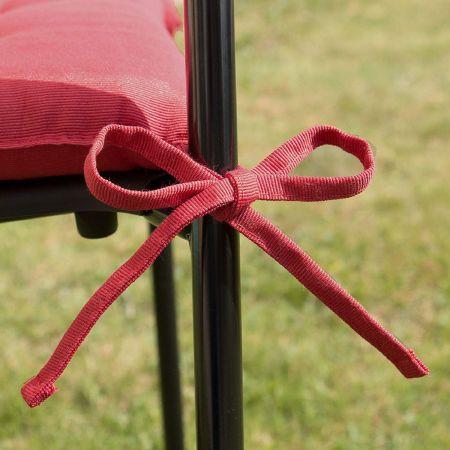 Coussin de chaise Rouge