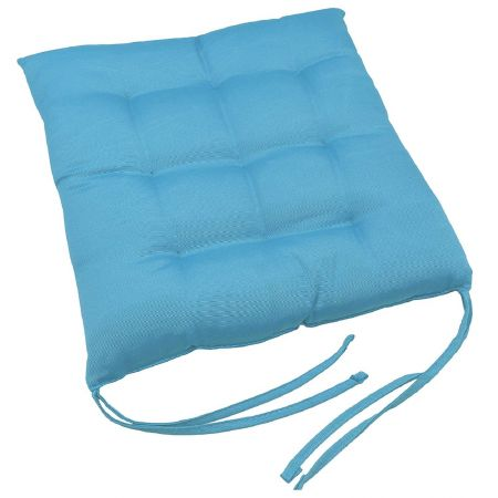 Coussin de chaise Turquoise