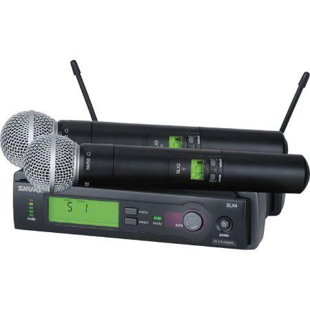 Double Micro SM58 sans fil Shure