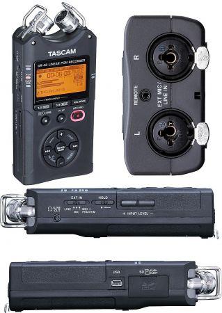 Enregistreur audio numérique portable - Tascam - DR40 / WAV / MP3