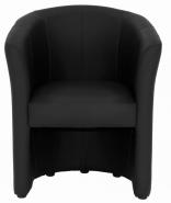 Fauteuil Cabriolet noir