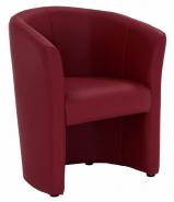 Fauteuil Cabriolet rouge