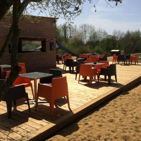 Fauteuil Lounge ORANGE