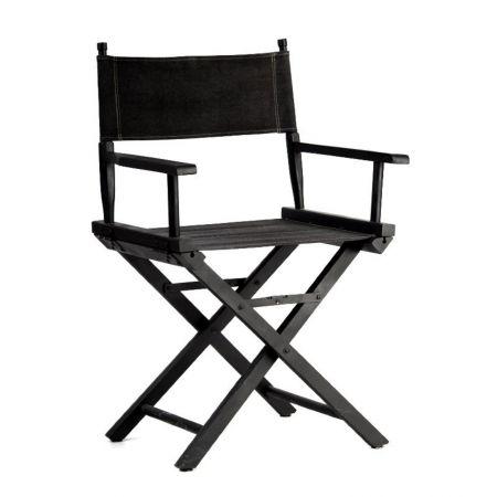 Fauteuil réalisateur noir