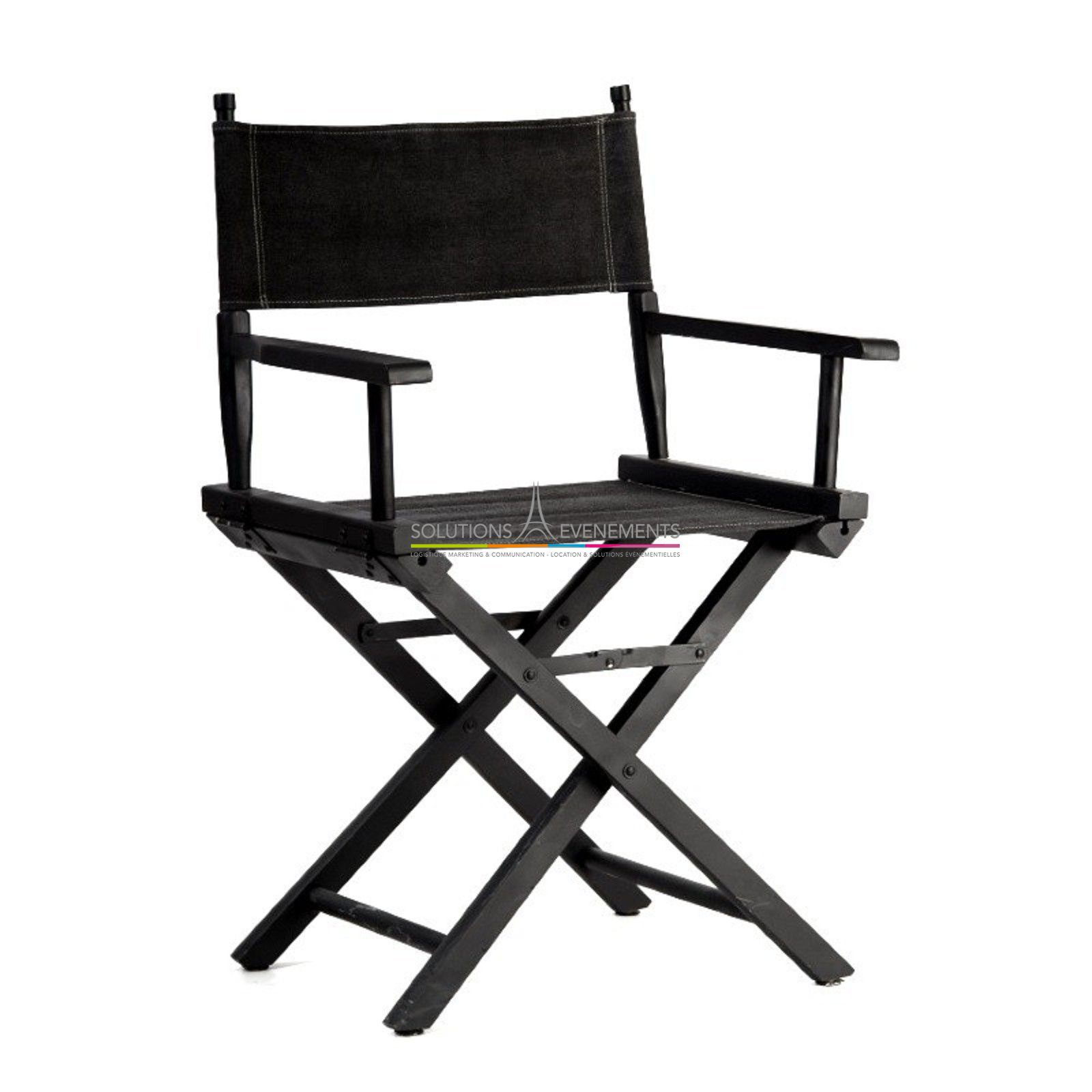 location fauteuil de cinema fauteuil realisateur. Black Bedroom Furniture Sets. Home Design Ideas