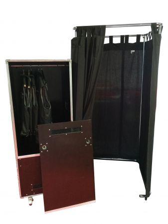 Flight case vestiaire - Penderie