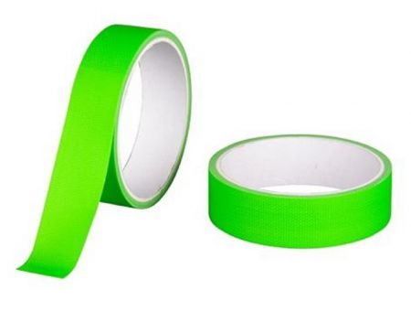 Gaffer pro 25mm vert fluo