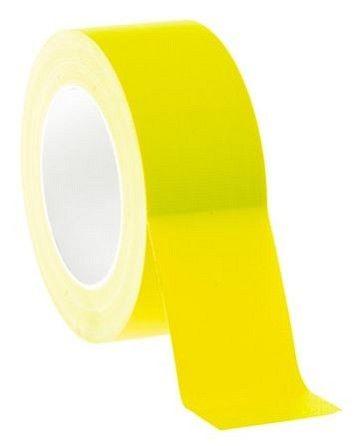 Gaffer pro 50mm jaune fluo