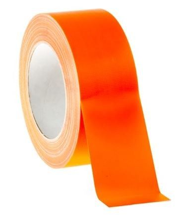 Gaffer pro 50mm orange fluo