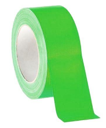 Gaffer pro 50mm vert fluo
