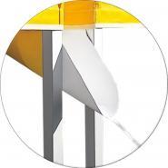 Gouttière pour tente pliante 4x4m