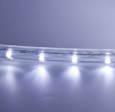 Guirlande lumineuse LED blanche 24m