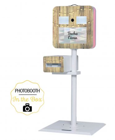 Habillage Guinguette pour Photobooth - In The Box