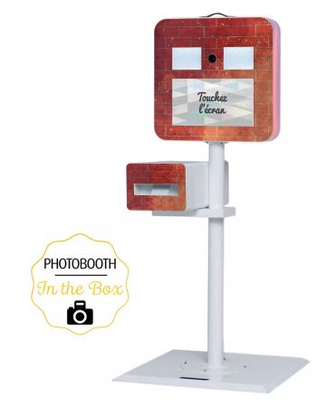 Habillage Industriel pour Photobooth - In The Box