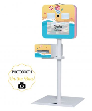 Habillage Plage pour Photobooth - In The Box